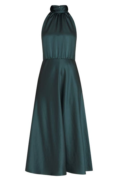 Veronica Beard GWYNIE HALTER DRESS
