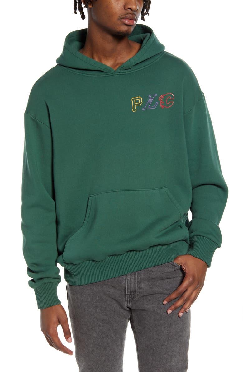 PASADENA LEISURE CLUB PLC Team Hooded Sweatshirt, Main, color, GREEN