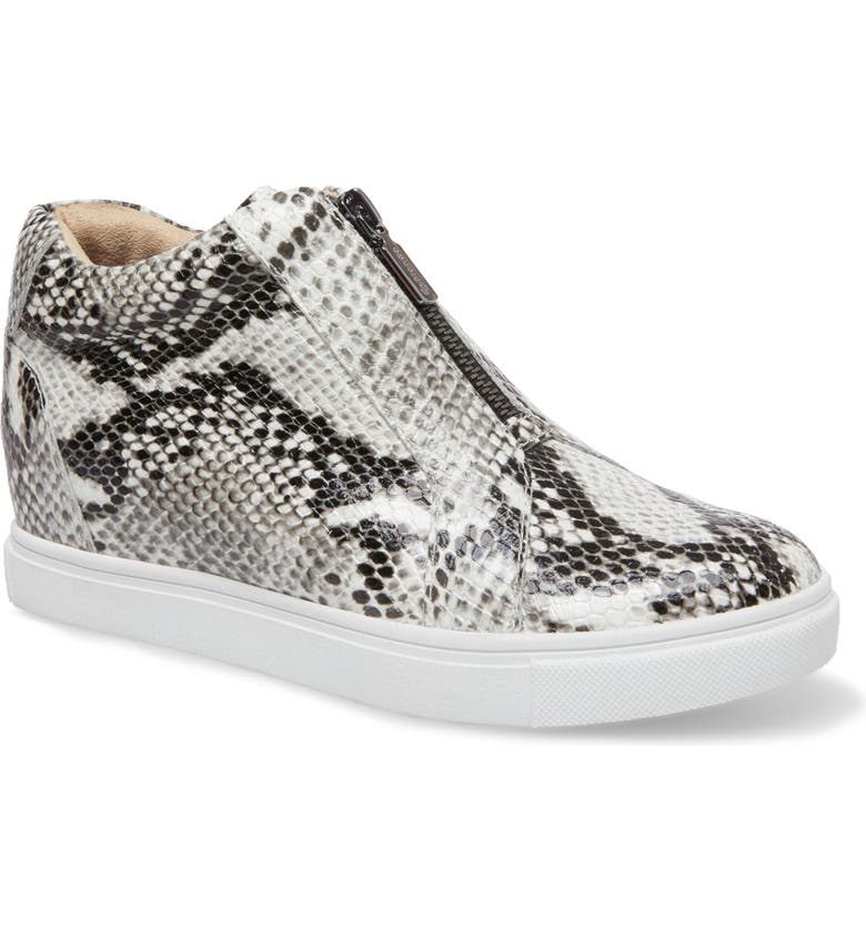 BLONDO Glenda Waterproof Sneaker Bootie, Main, color, NATURAL PRINT LEATHER