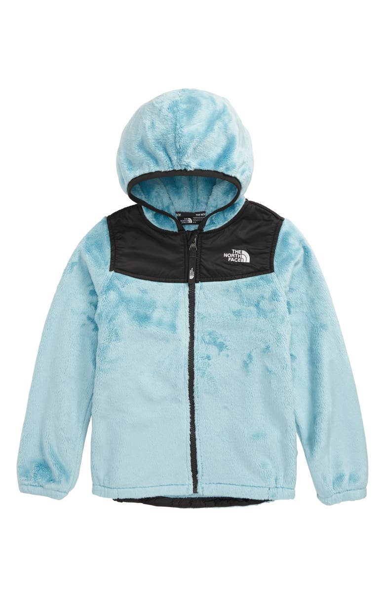 THE NORTH FACE Oso Fleece Hoodie, Main, color, WINDMILL BLUE