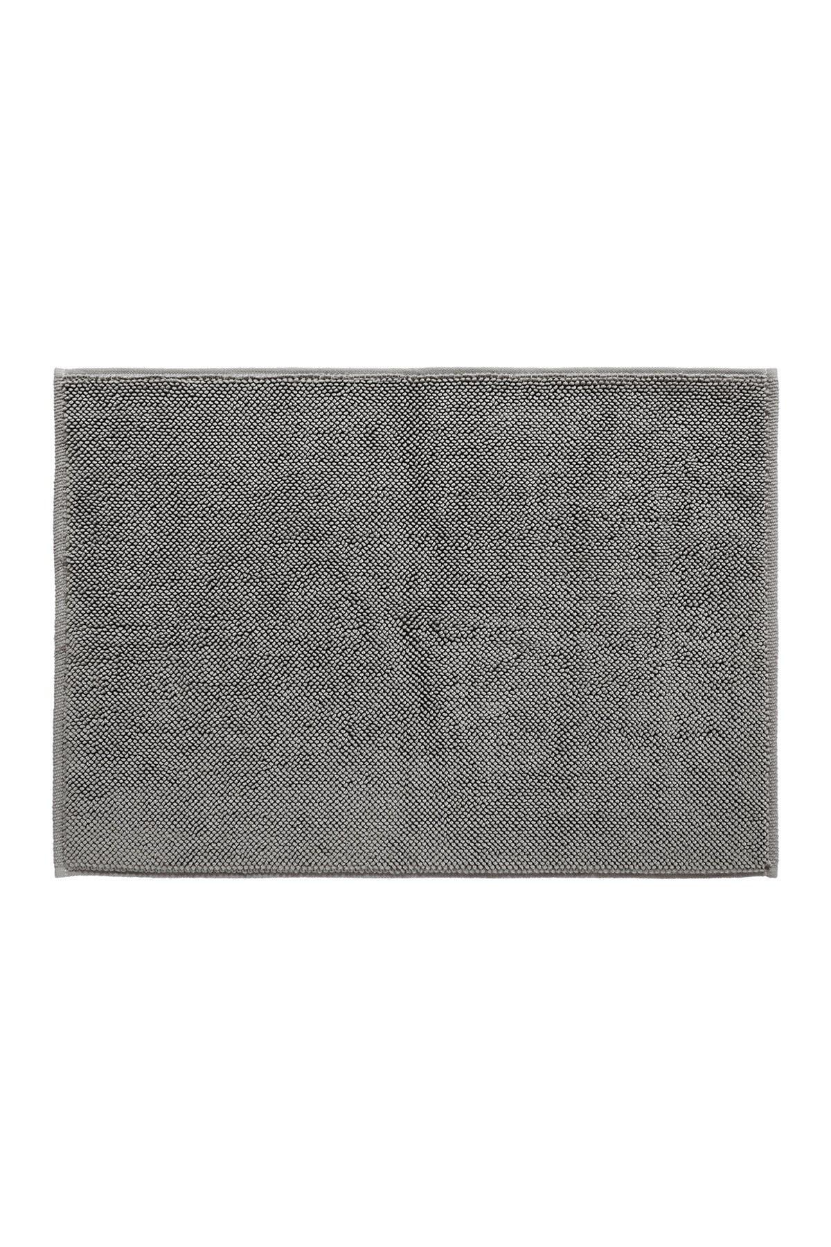 Image of Modern Threads Turkish Cotton Reversible Bath Rug - Grey