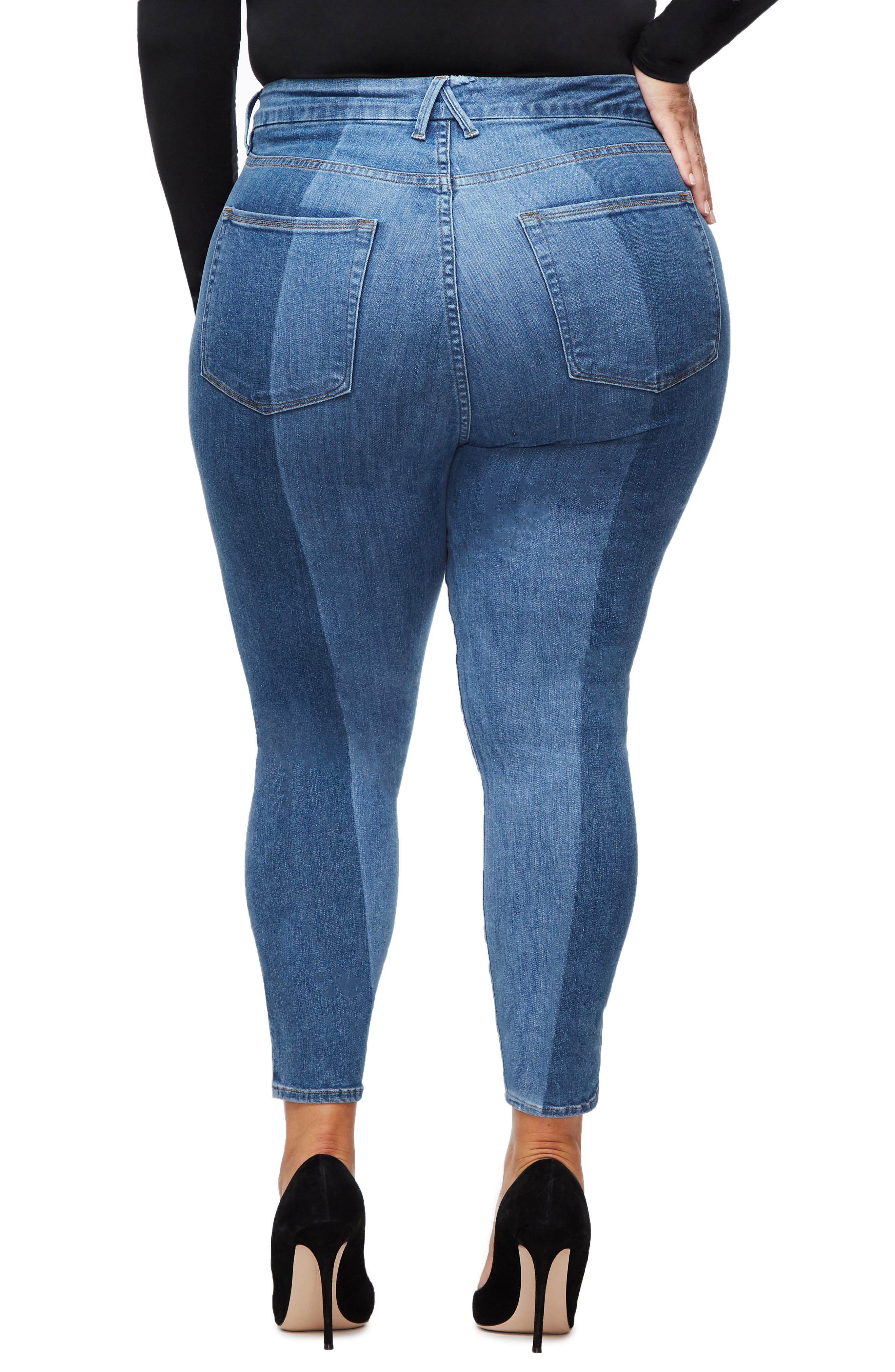 ,                             Good Legs Ankle Skinny Jeans,                             Alternate thumbnail 18, color,                             403