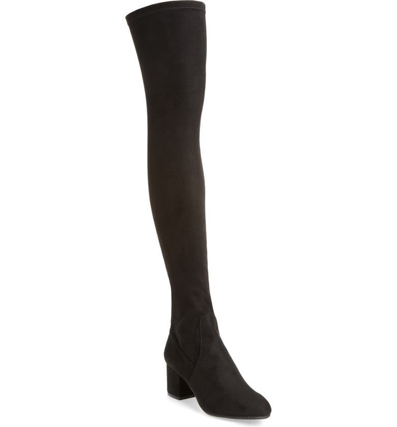 STEVE MADDEN Isaac Over the Knee Boot, Main, color, 001