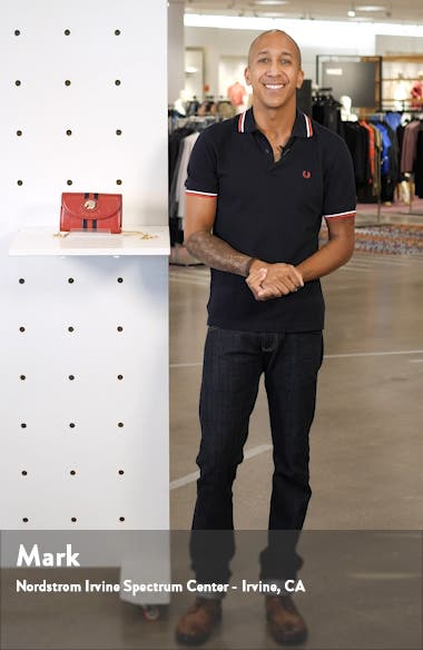 Mini Rajah Leather Crossbody Bag, sales video thumbnail