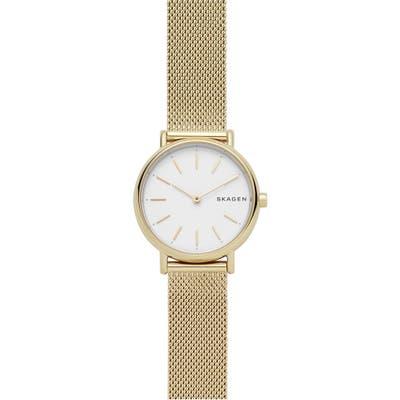 Skagen Signatur Slim Mesh Strap Watch, 30Mm