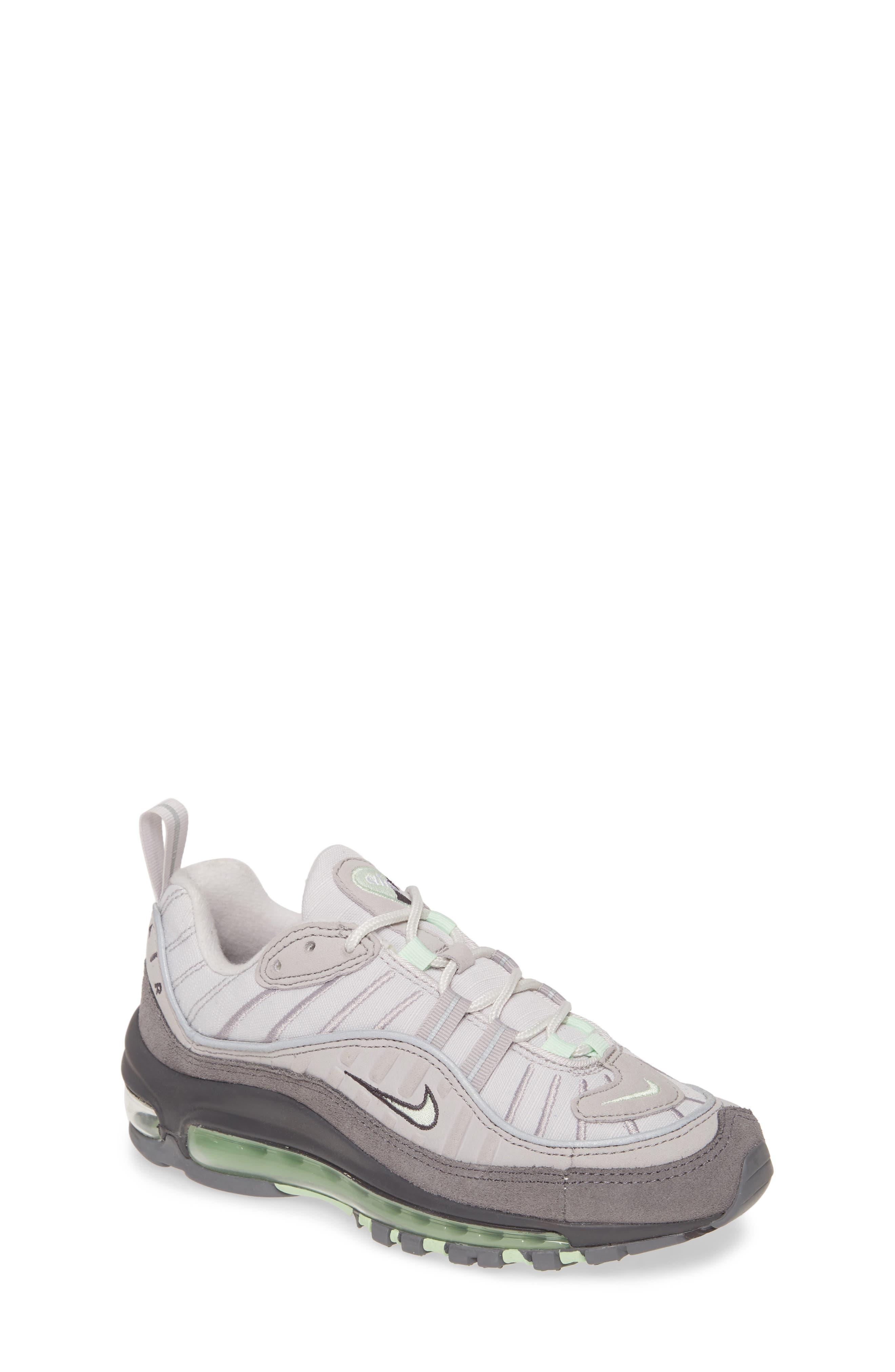 Kids Nike Air Max 98 Bg Sneaker Size 6 M  Grey