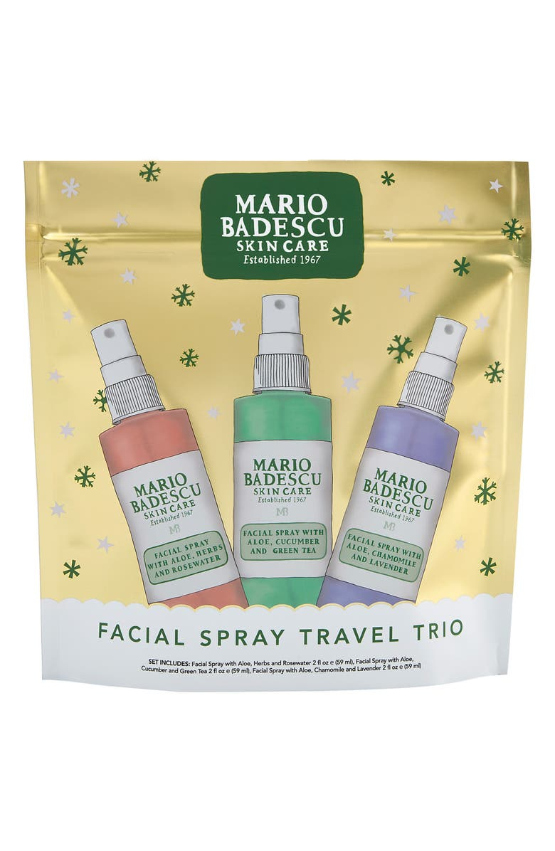 MARIO BADESCU Facial Spray Trio, Main, color, NO COLOR