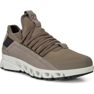 Ecco Omni Vent Lx Gore-Tex Waterproof Slip-On Sneaker, Grey