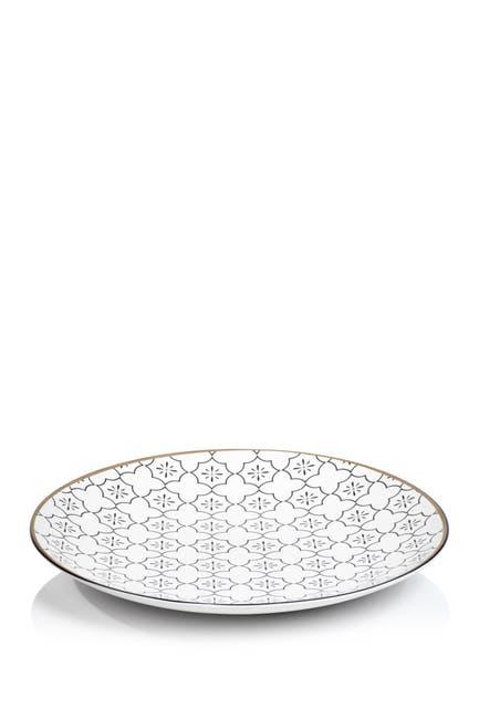 "Image of Zodax Nadia Ceramic Platter - 15.75"""