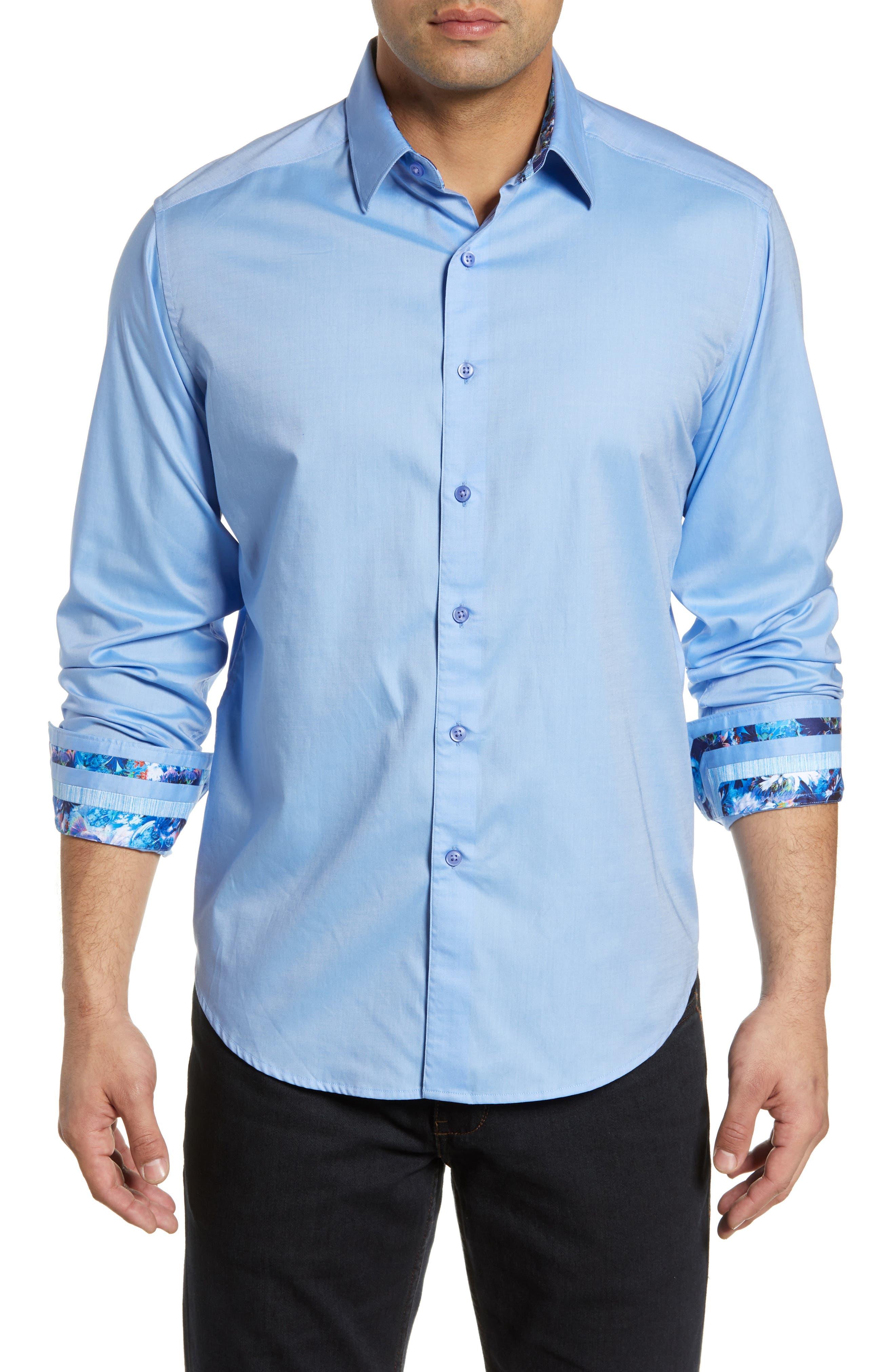 Robert Graham Mens Rutherford Long Sleeve Classic Fit Shirt