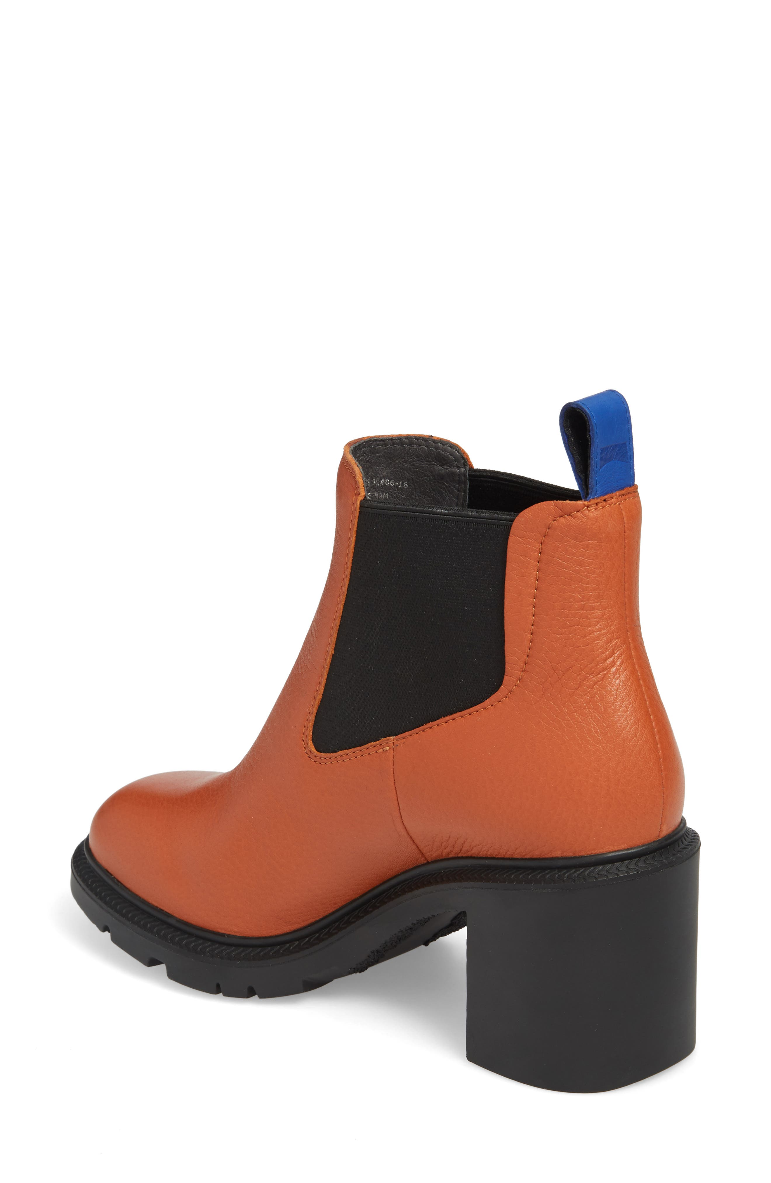 ,                             Whitnee Bootie,                             Alternate thumbnail 2, color,                             RUST COPPER LEATHER/ BLACK