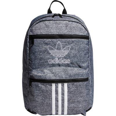 Adidas Originals National 3-Stripes Backpack - Grey