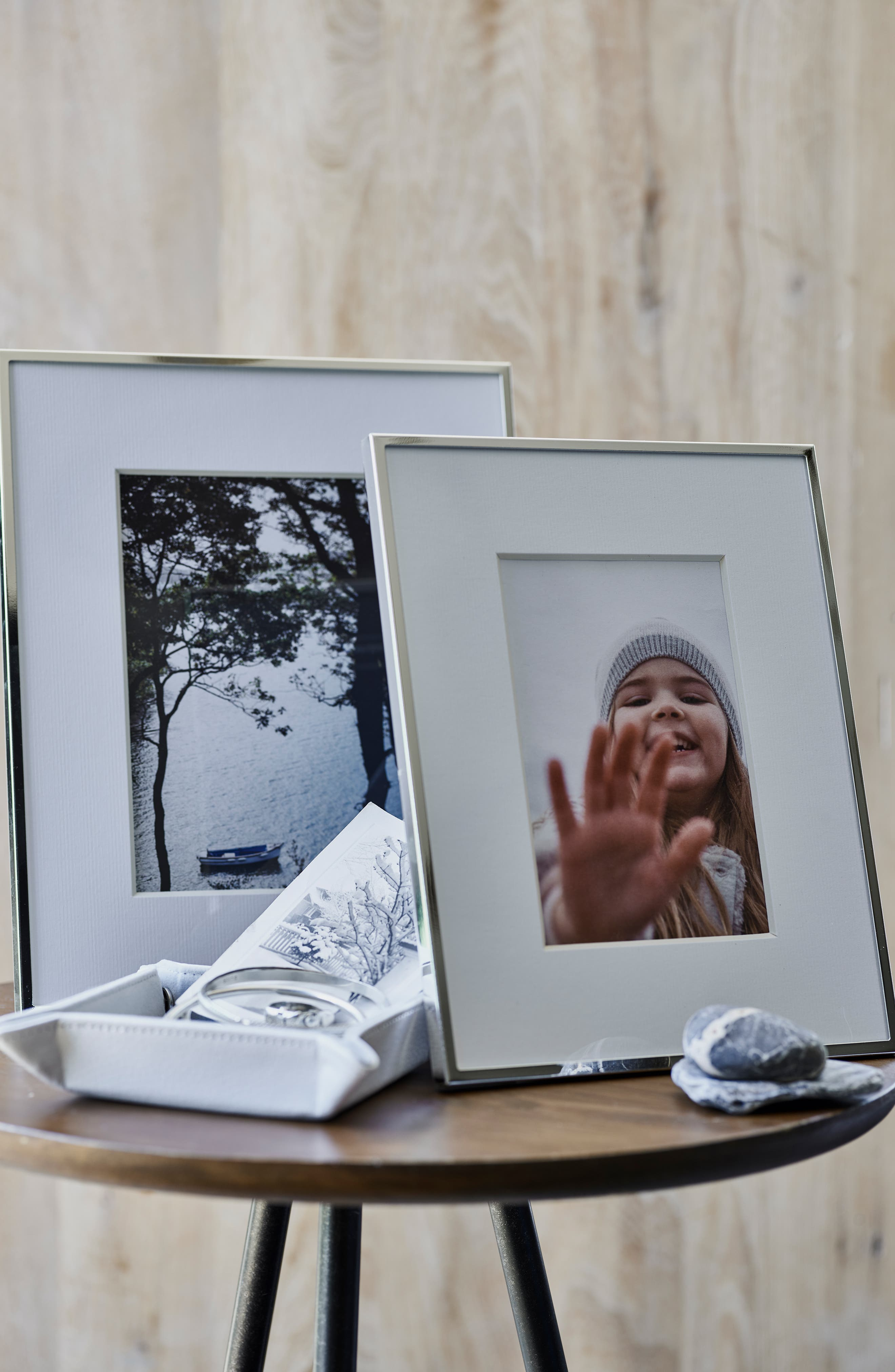 ,                             Fine Silver Plated Picture Frame,                             Alternate thumbnail 6, color,                             SILVER