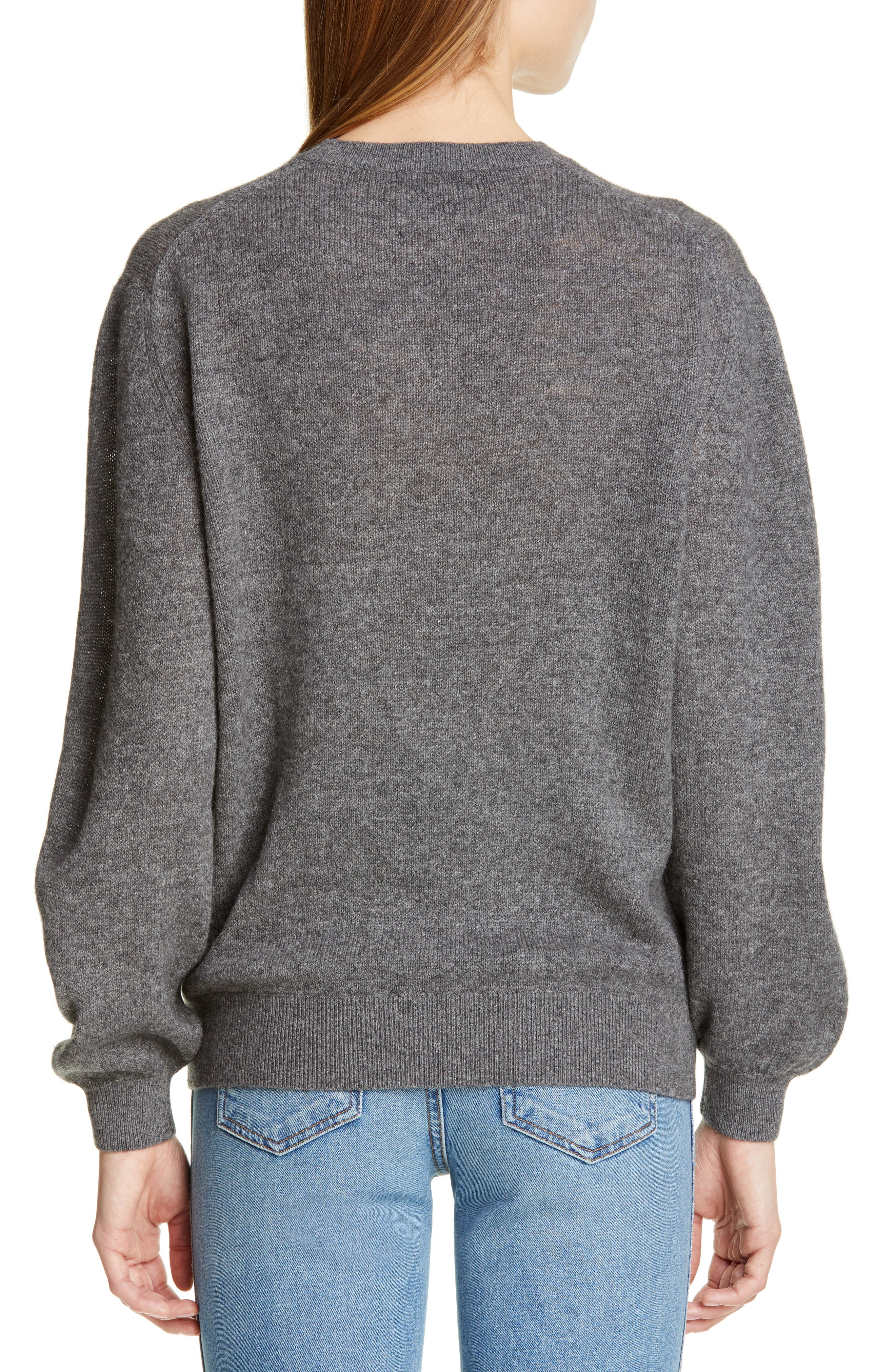 ,                             Viola Cashmere Sweater,                             Alternate thumbnail 2, color,                             GREY