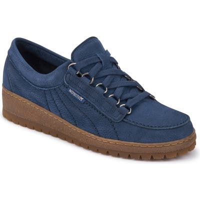 Mephisto Lady Low Top Sneaker, Blue