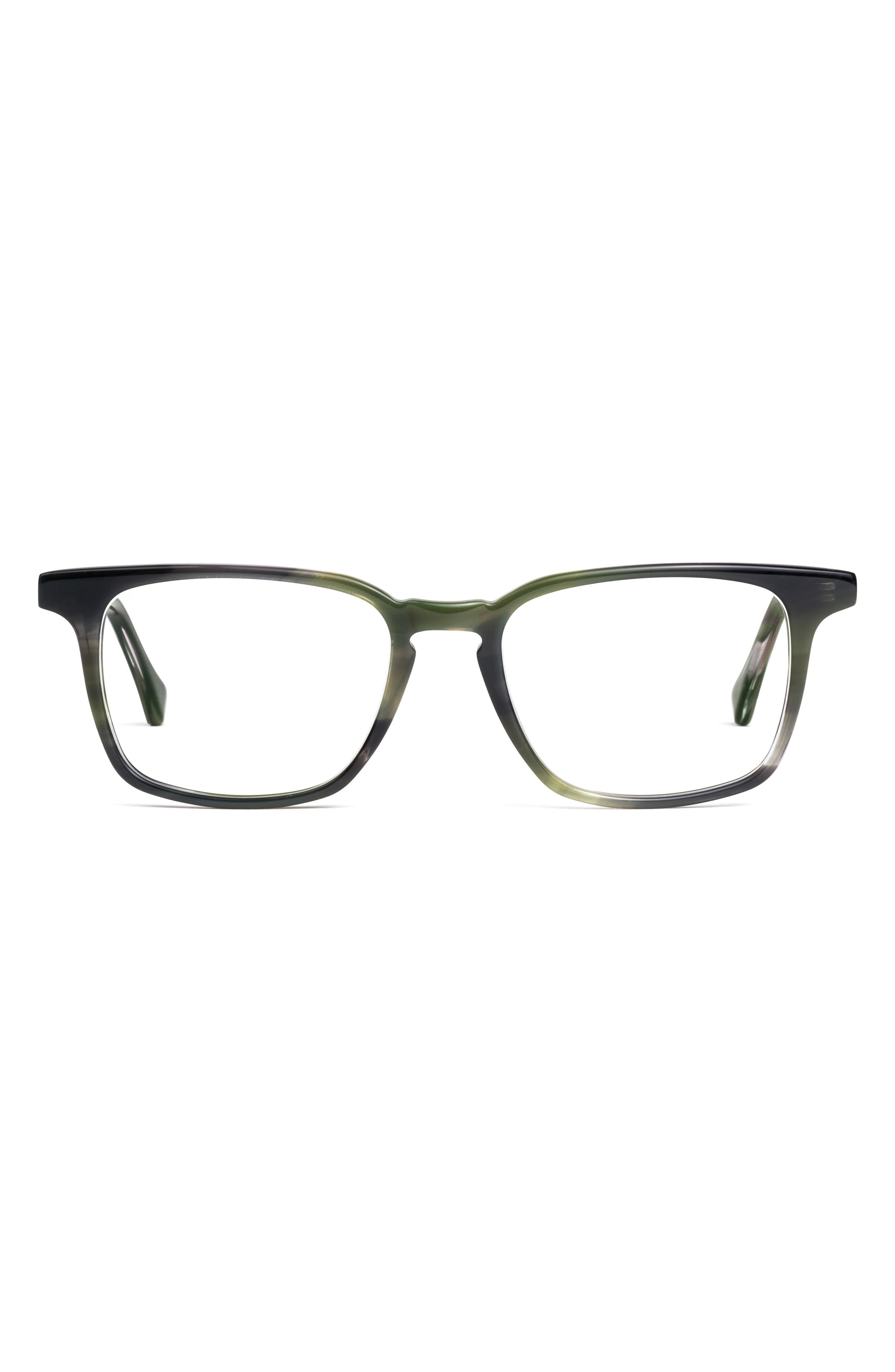 Nash 49mm Square Blue Light Blocking Glasses