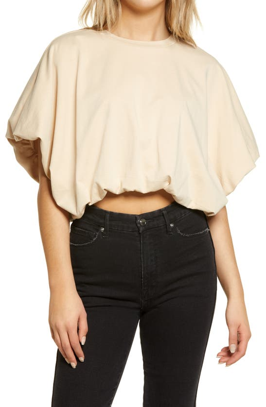 GREY LAB T-shirts HIGH/LOW CROP T-SHIRT
