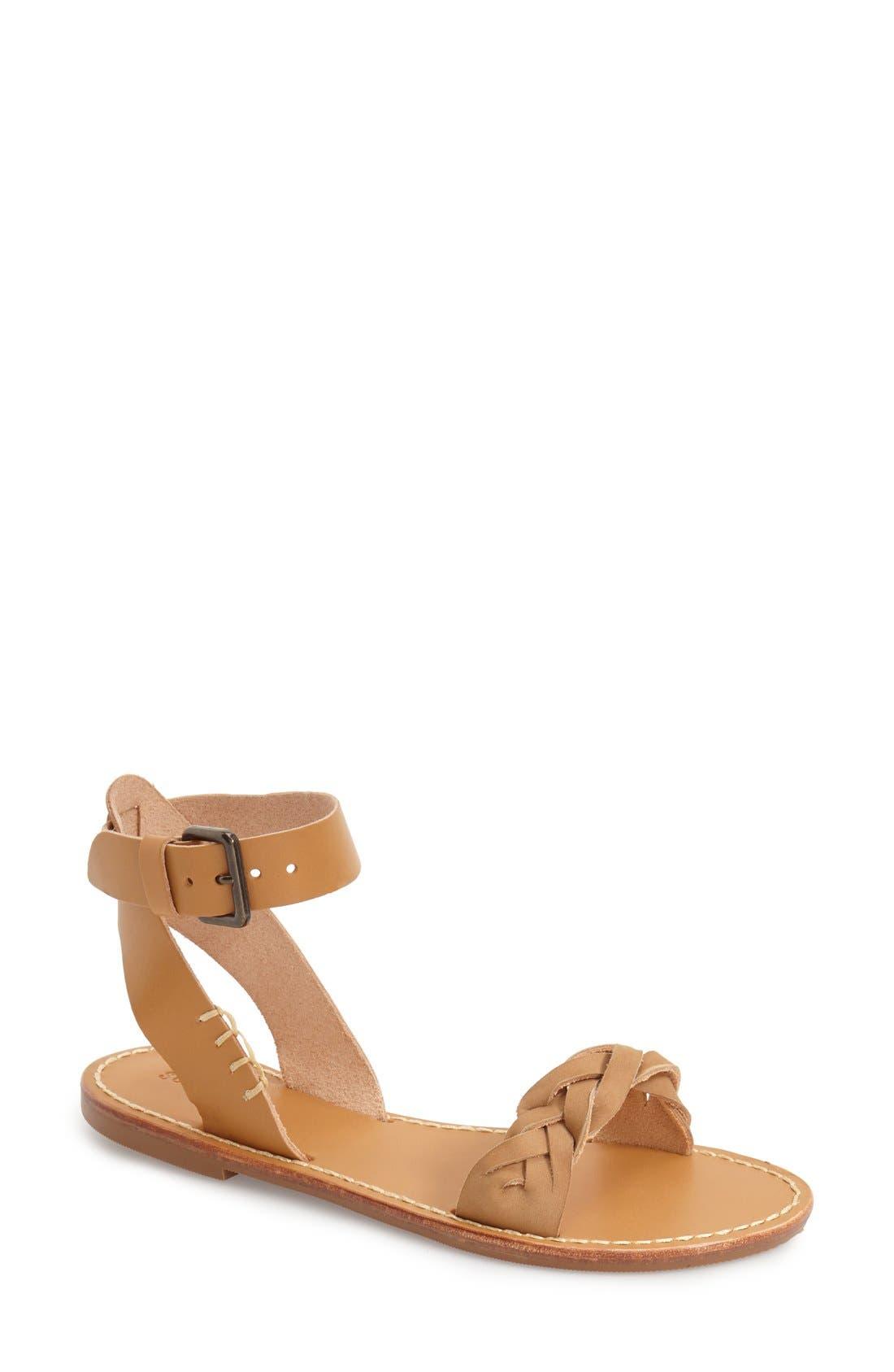 Ankle Strap Sandal, Main, color, 282