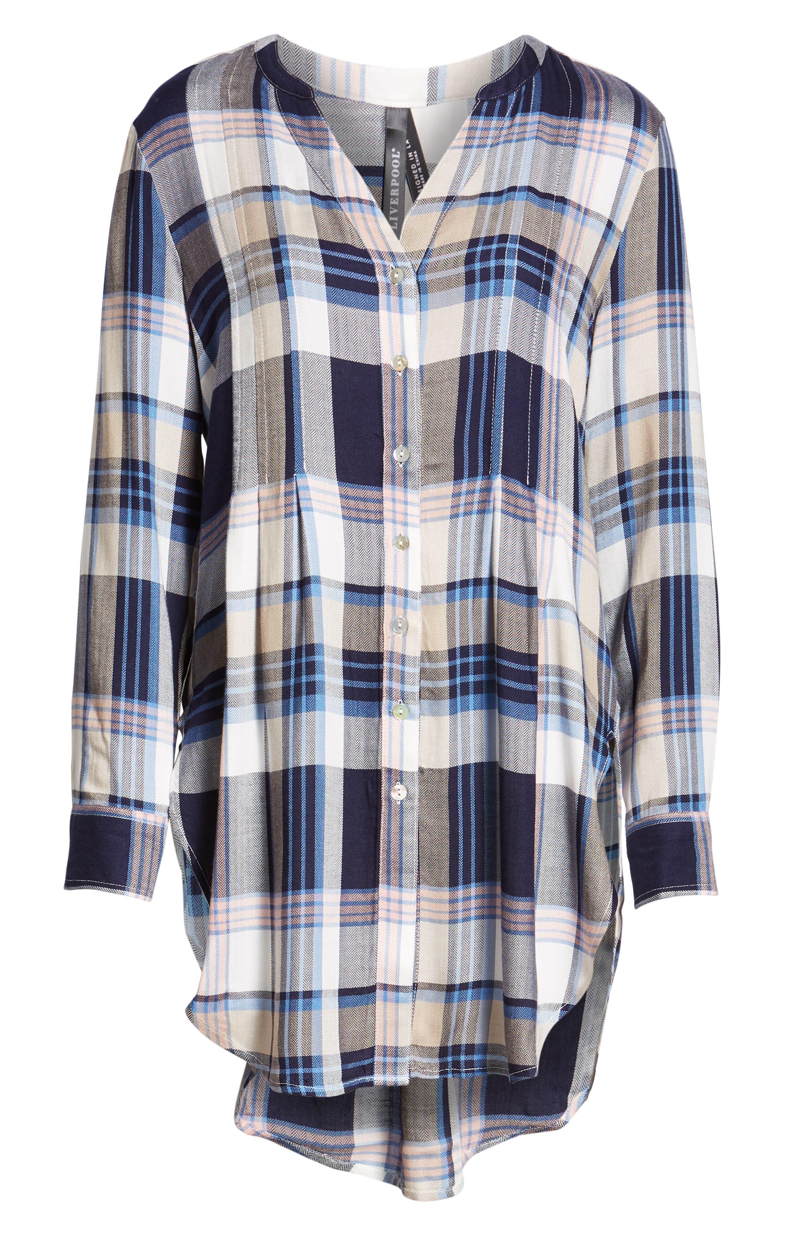 ,                             Release Pleat Tunic Shirt,                             Alternate thumbnail 6, color,                             401