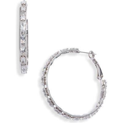 8 Other Reasons Nikki Crystal Hoop Earrings