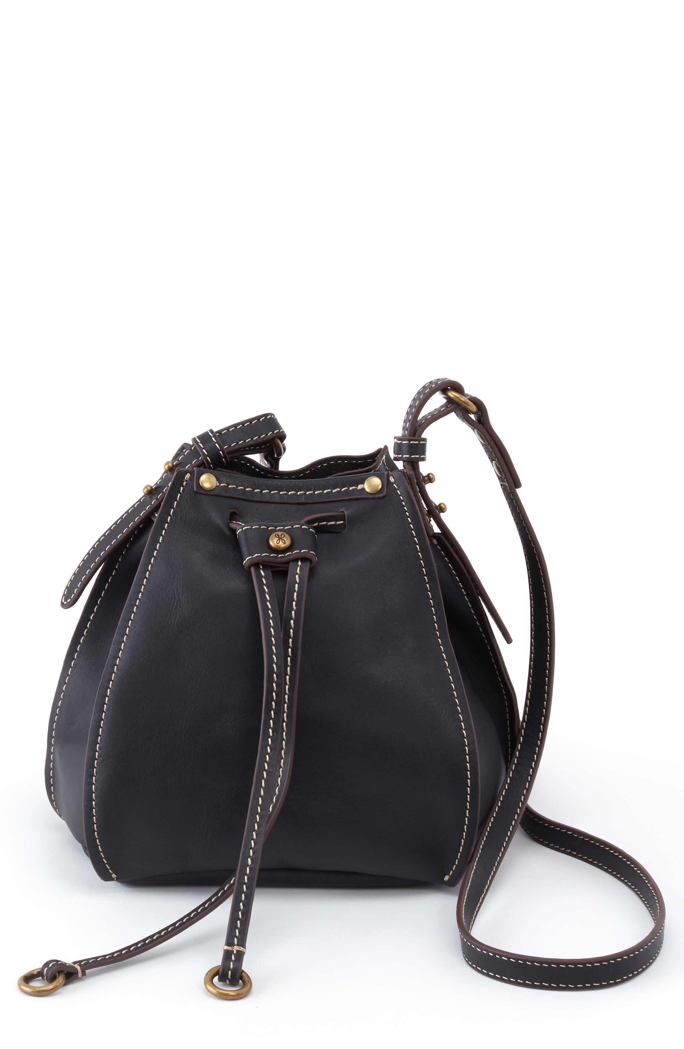 Image of Hobo Cinder Leather Crossbody Bag