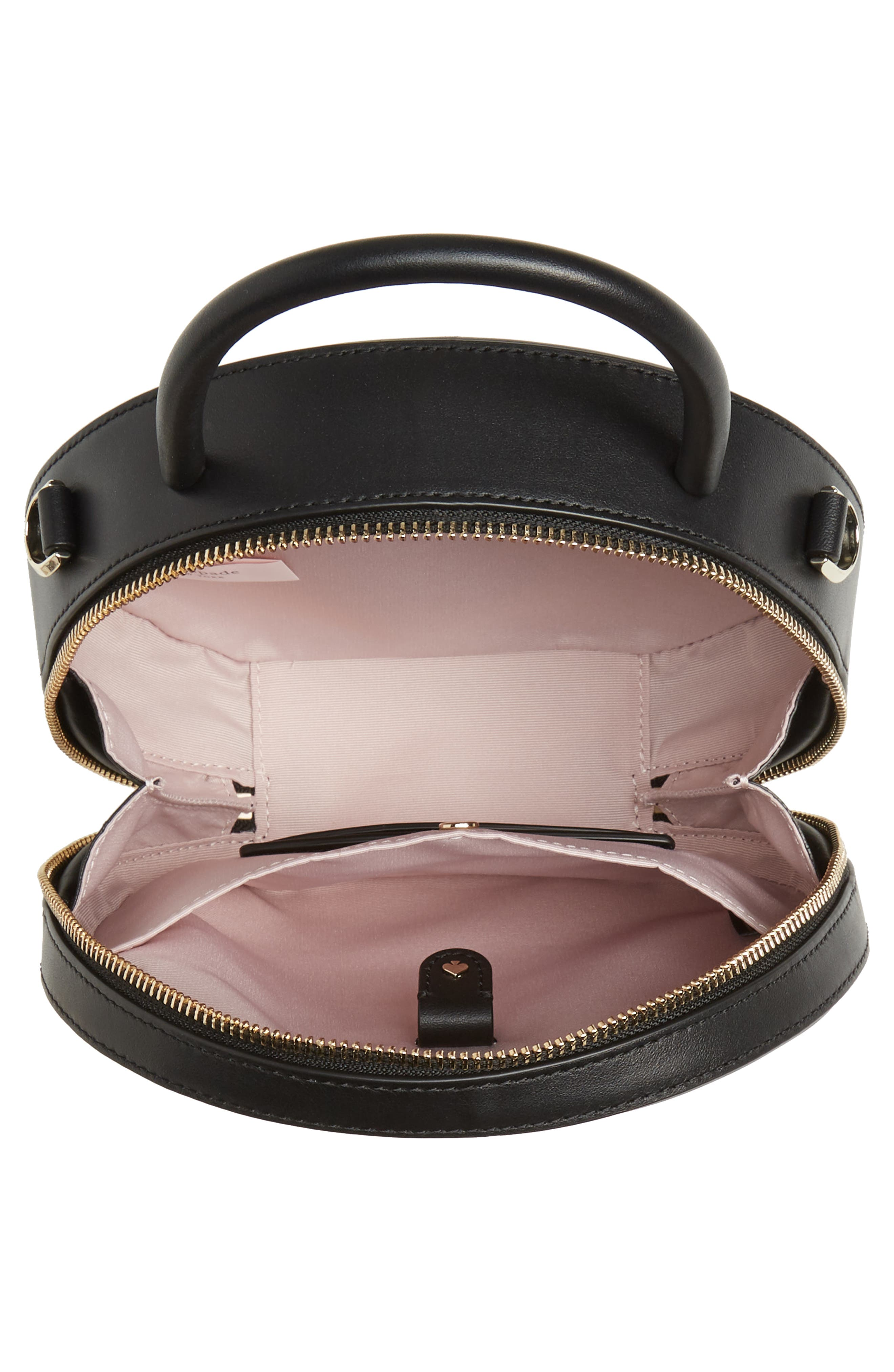 ,                             andi canteen leather crossbody bag,                             Alternate thumbnail 5, color,                             BLACK