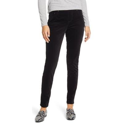 Jag Jeans Maya Pull-On Skinny Velvet Pants, Black