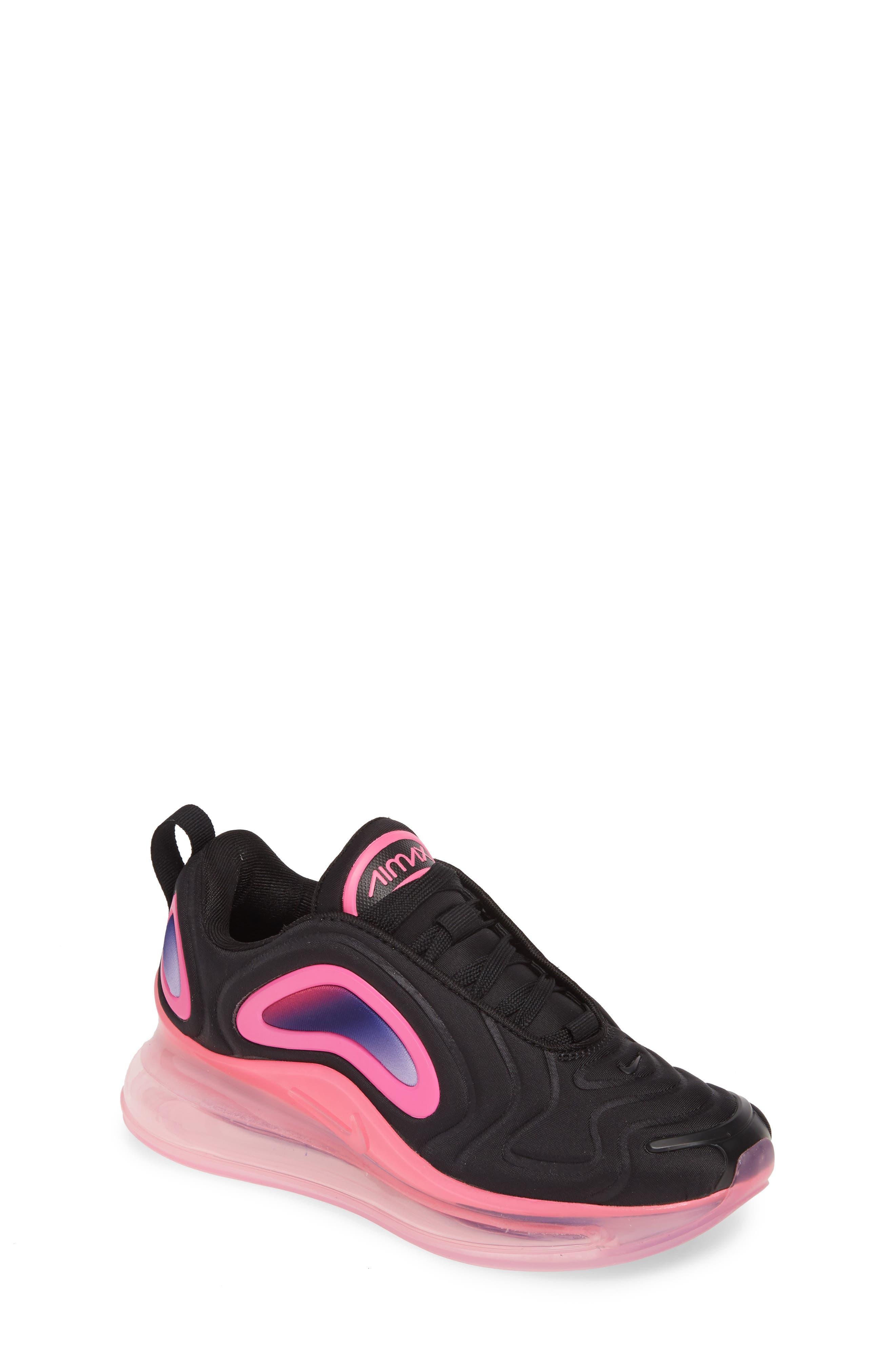 Toddler Nike Air Max 720 Sneaker Size 15 M  Black
