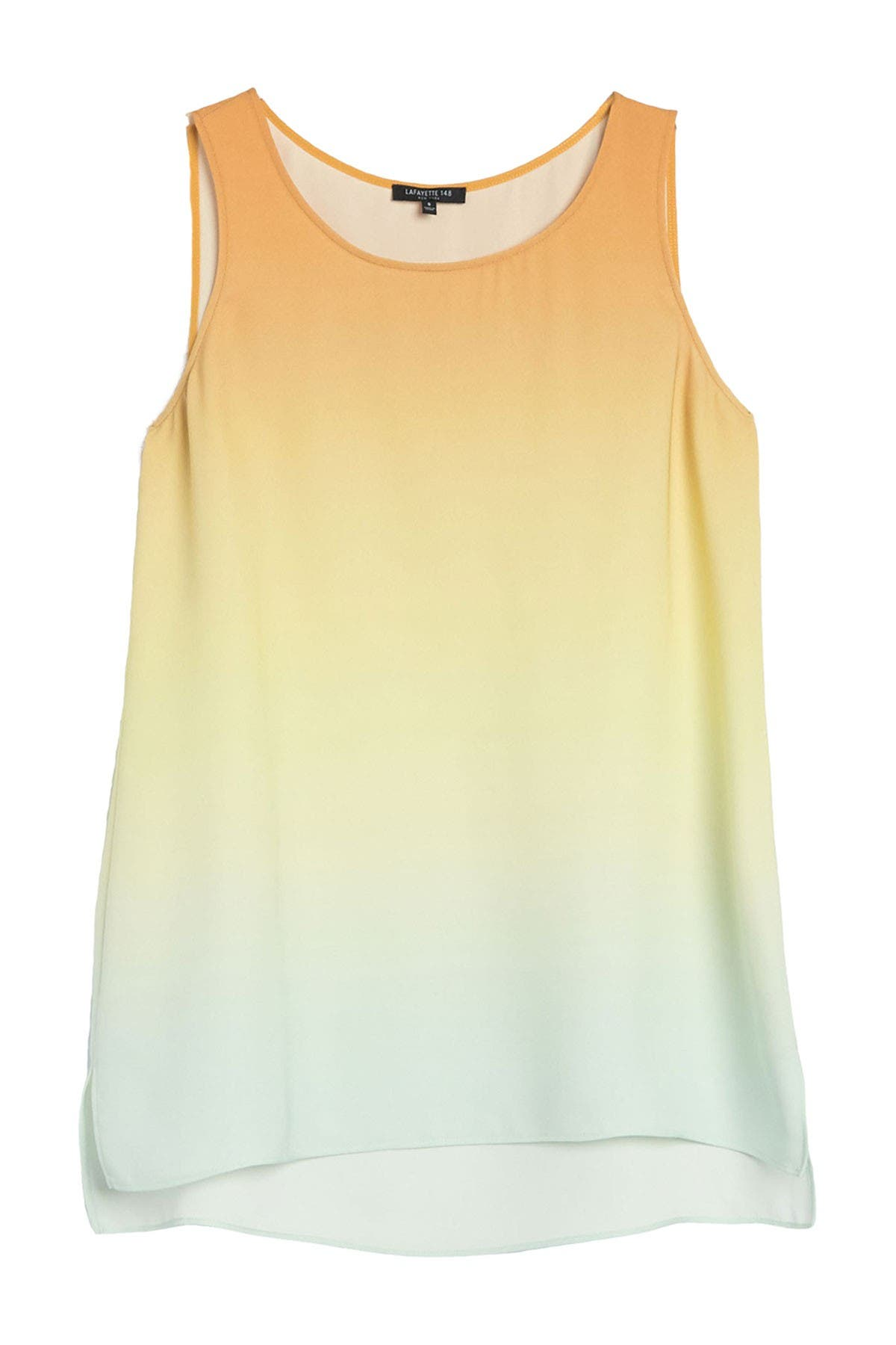 Image of Lafayette 148 New York Ruthie Dip Dyed Sleeveless Top