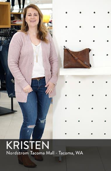 Melissa Leather Crossbody Bag, sales video thumbnail