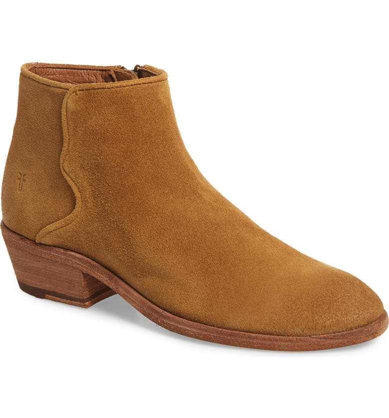 FRYE Carson Western Bootie, Main, color, 200