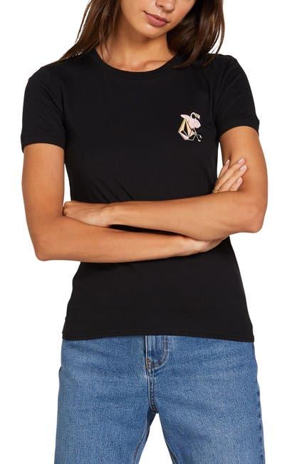 Image of Volcom Go Faster Logo T-Shirt