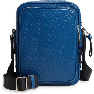 Burberry Freddie Leather Crossbody Bag - Blue