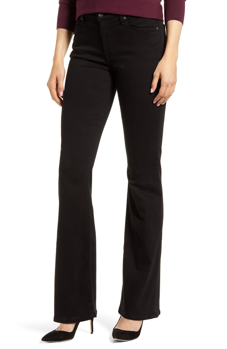 7 FOR ALL MANKIND<SUP>®</SUP> b(air) Tailorless Bootcut Jeans, Main, color, BAIR BLACK