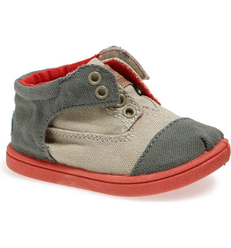 TOMS 'Botas - Tiny' Colorblock Sneaker, Main, color, 030