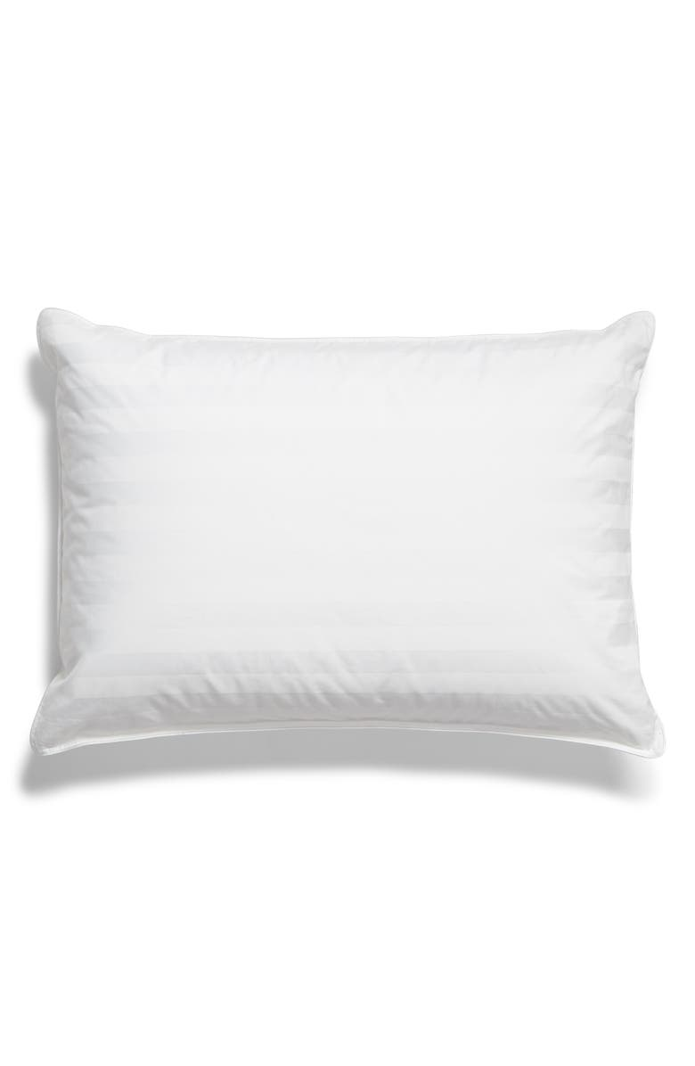 NORDSTROM AT HOME Goose Down Pillow, Main, color, WHITE