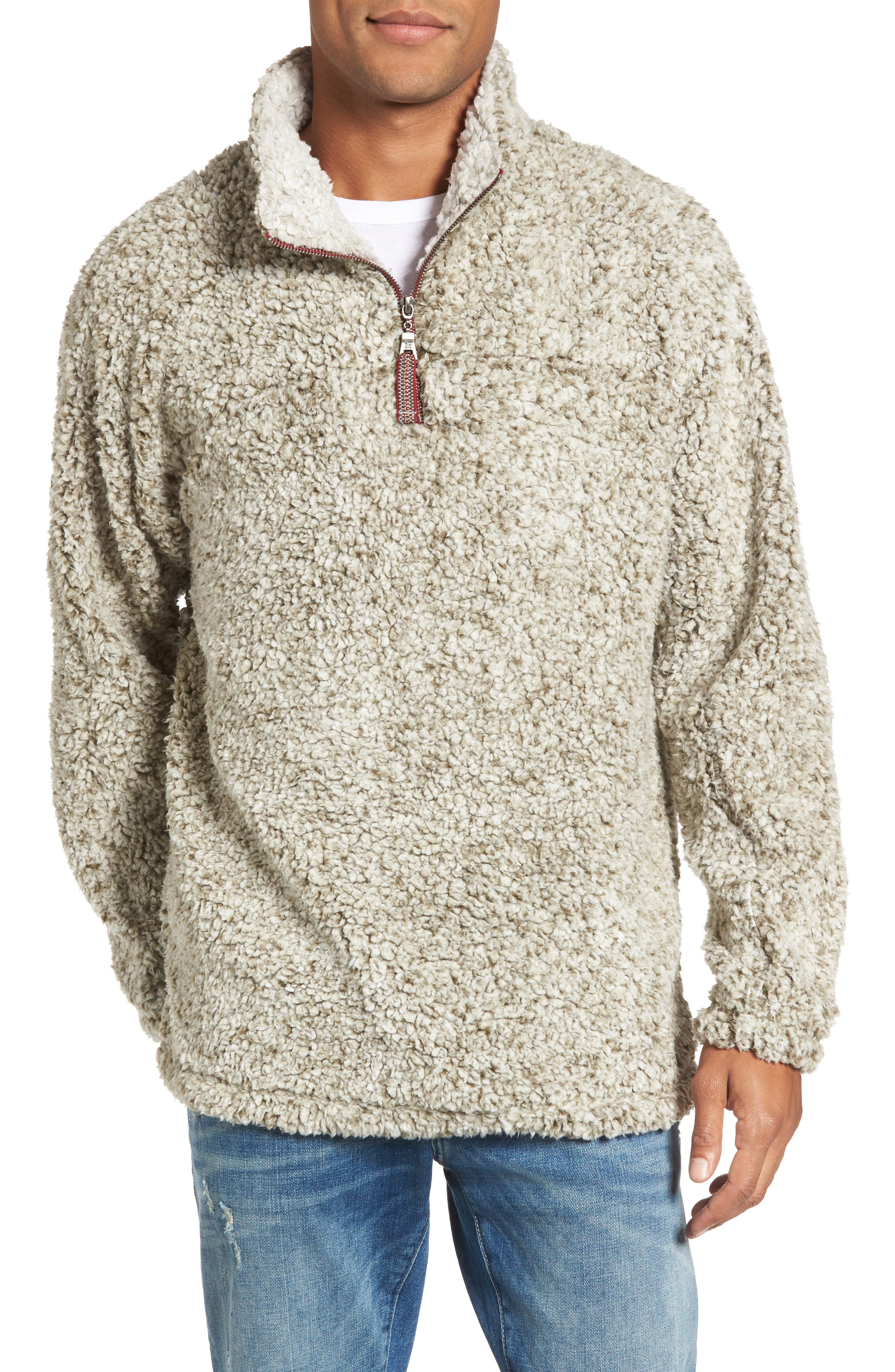 ,                             Frosty Tipped Quarter Zip Pullover,                             Main thumbnail 22, color,                             381