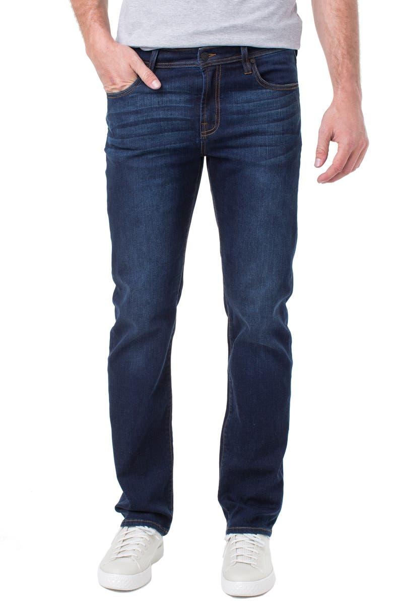 LIVERPOOL Regent Straight Leg Jeans, Main, color, ROSECRANS DARK