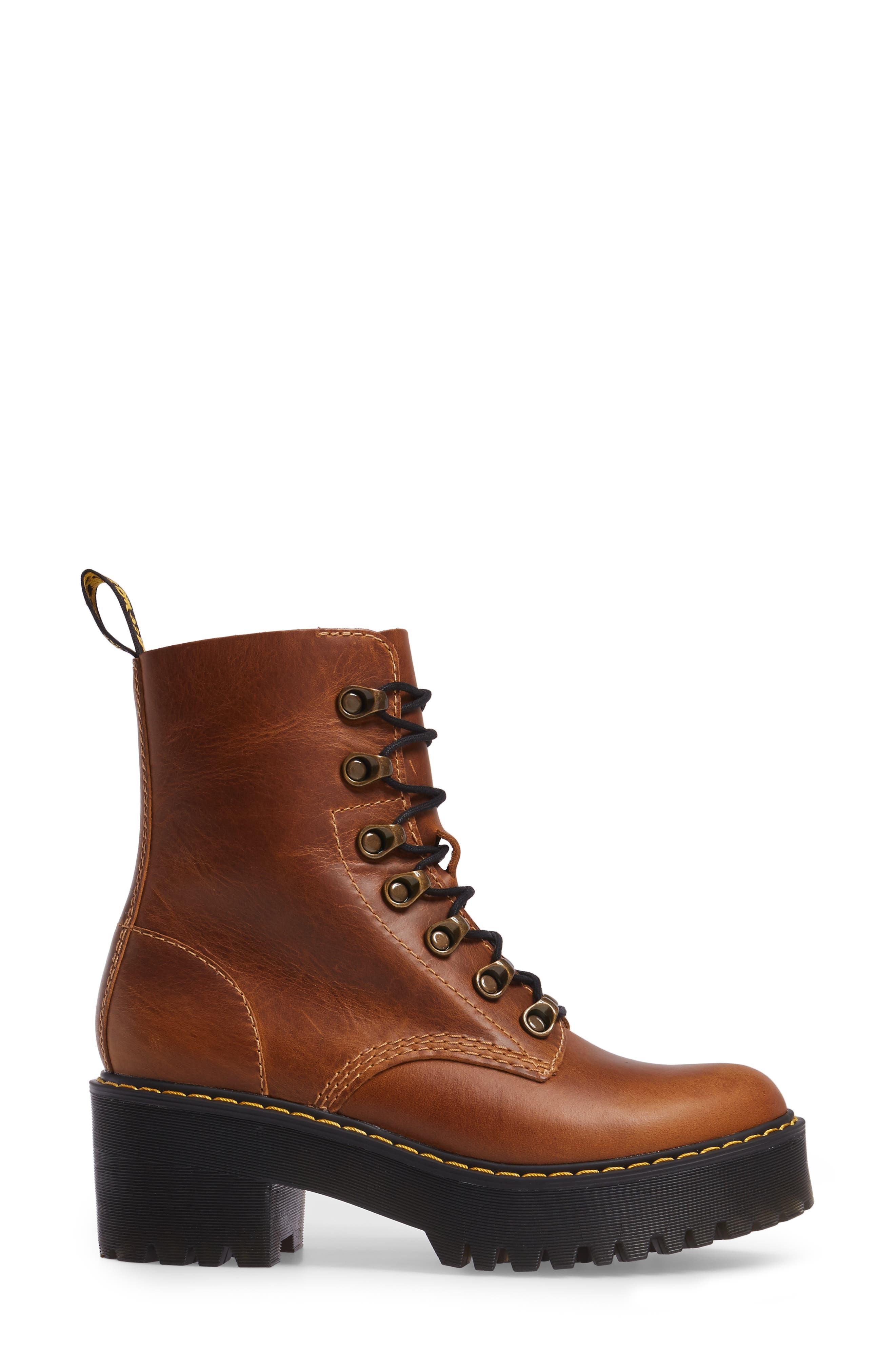 ,                             Leona Heeled Boot,                             Alternate thumbnail 15, color,                             243