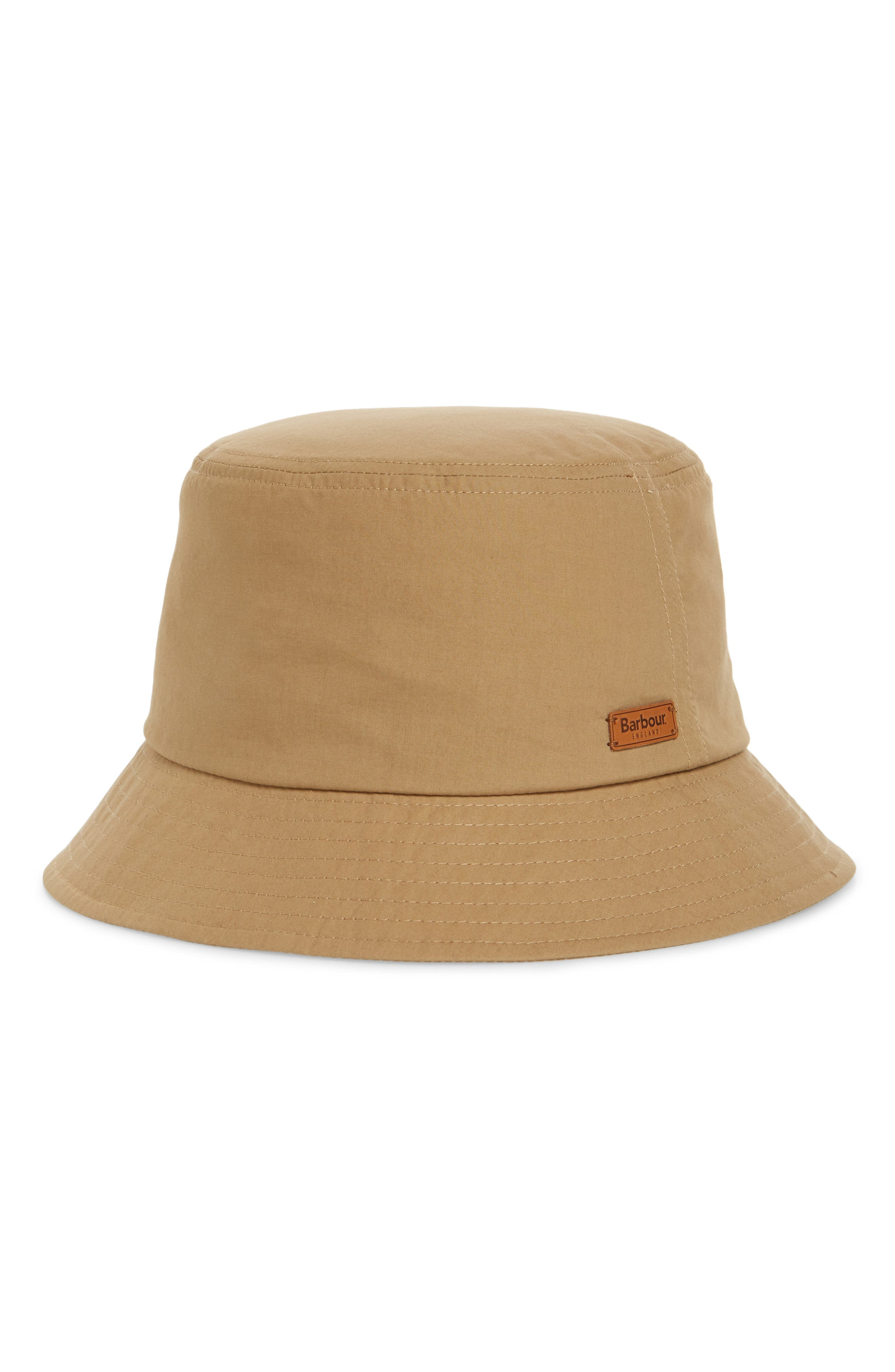 Irvine Wax Bucket Hat, Main, color, MID KHAKI
