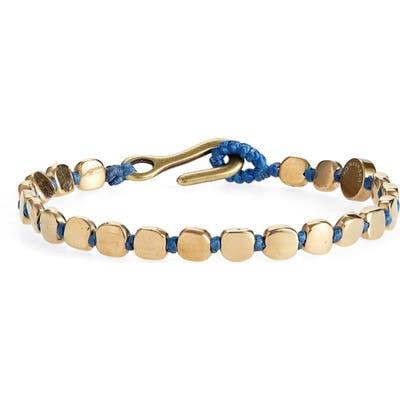 Caputo & Co. Brass Bead Bracelet