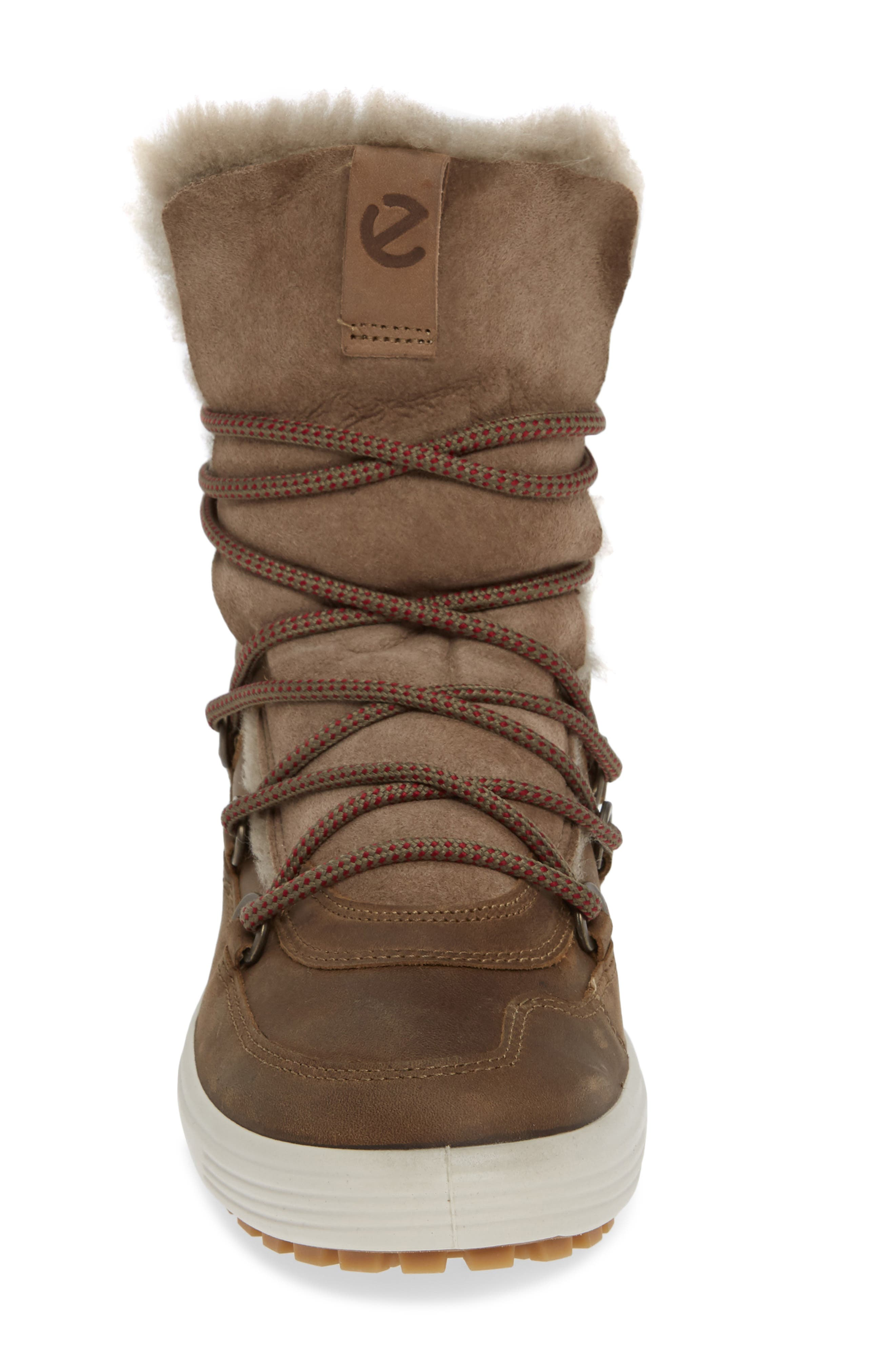 ,                             Soft 7 Tred Waterproof Genuine Shearling Lined Bootie,                             Alternate thumbnail 4, color,                             247