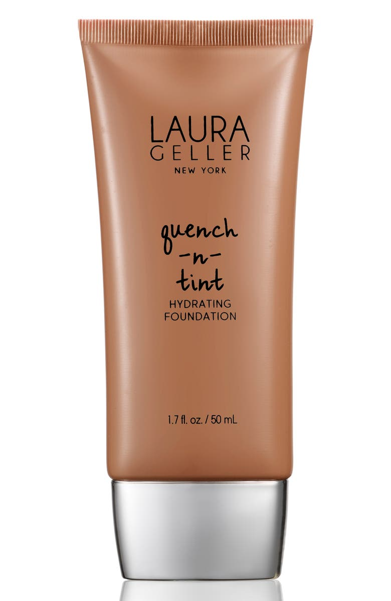 LAURA GELLER BEAUTY Quench-n-Tint Hydrating Foundation, Main, color, DEEP