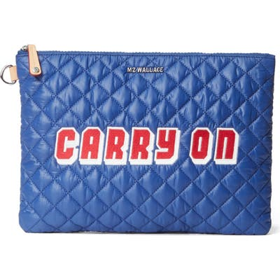 Mz Wallace Metro Pouch - Blue