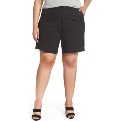 Plus Size Nydj Stretch Twill Bermuda Shorts