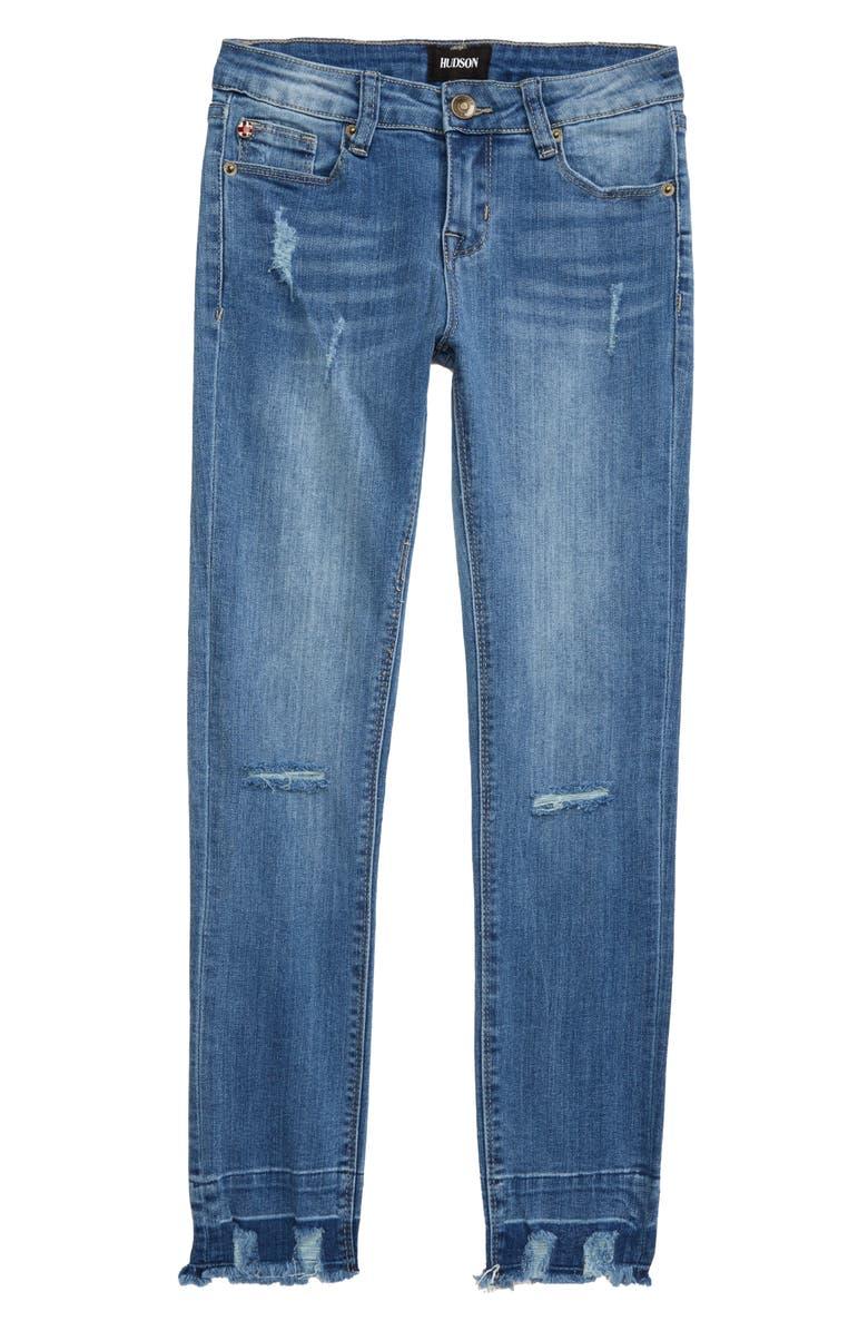 HUDSON JEANS Jett Ankle Jeans, Main, color, DELANCY