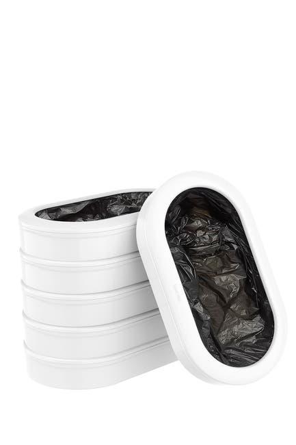 Image of TOWNEW T3 Slim Trash Bag Refill Rings - Pack of 6