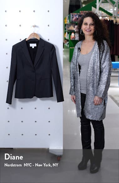 Jonina Vichy Check Suit Jacket, sales video thumbnail