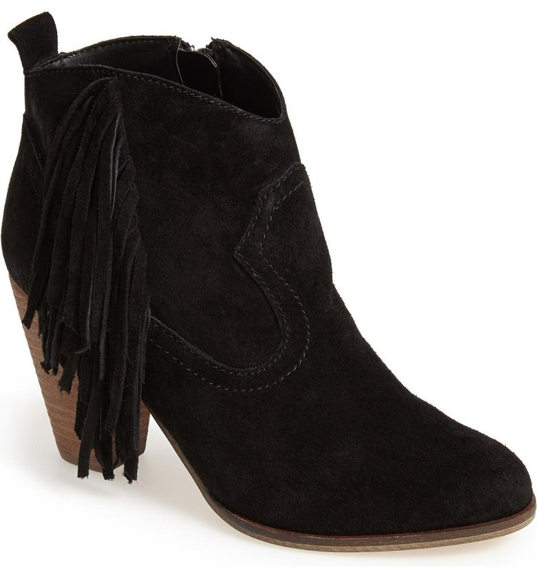 STEVE MADDEN 'Ponncho' Suede Bootie, Main, color, 006