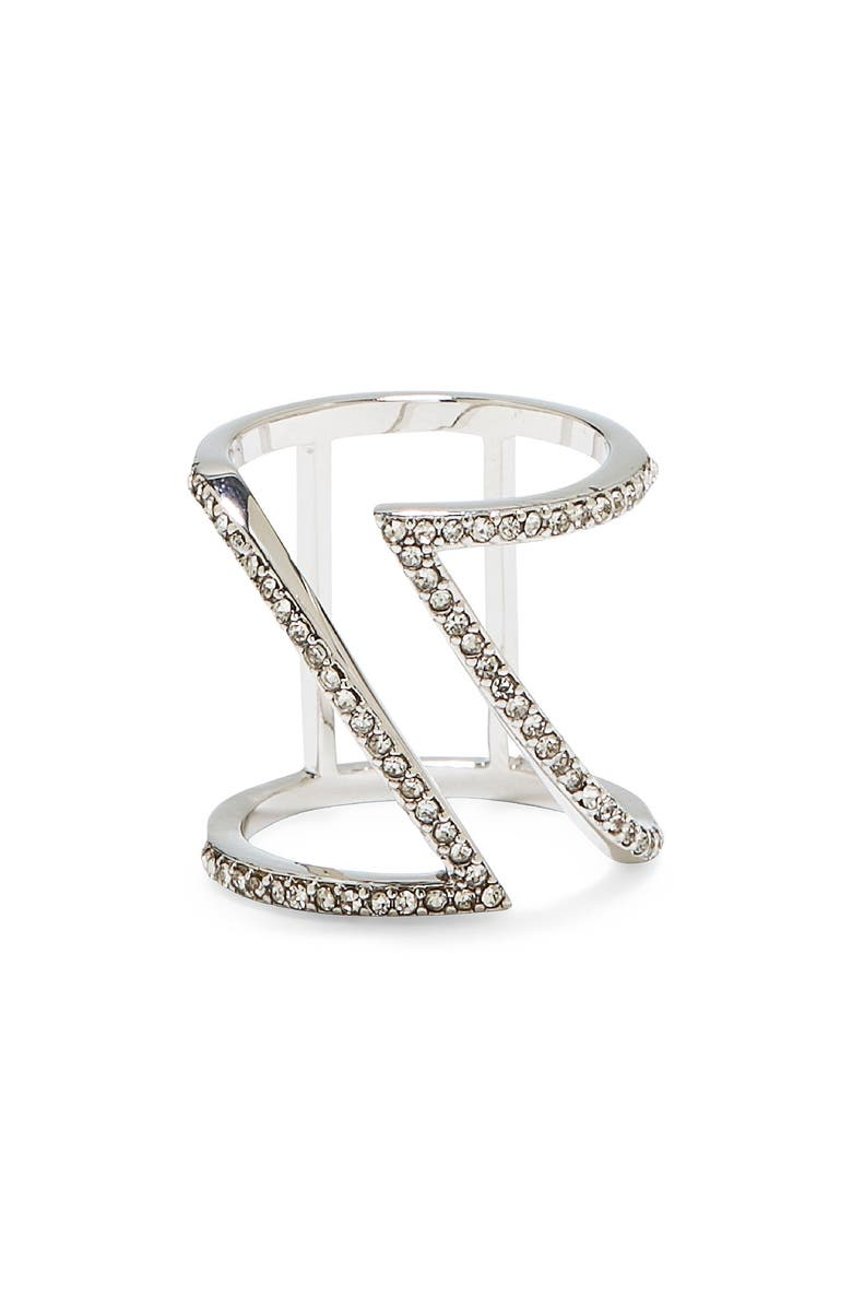 VINCE CAMUTO Pavé Ring, Main, color, SILVER